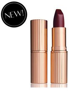 Charlotte Tilbury Modern Matte Revolution lipstick in Glastonberry