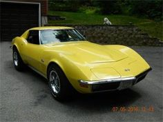 1970 Corvette Stingray Coupe, 350/350, 380 lbs ft torque, All Stock, Matching Numbers, excellent frame and body, never been hit. Everything is in original great working order, all gauges, vacuum system, fiber optics. Always been garaged. I'm the 3rd owner of 14 years. There were under 10,000 manufactured in 1970. This is Truly a Beautiful Car and A Nice Ride! ClassicCars.com