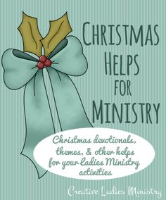 Christmas Ideas for Church Ladies Groups and Womens Ministry: from Creative Ladies Ministry Church Ministry, Ministry Ideas, Church Fellowship, Christian Christmas, Church Activities, Christmas Tea, Bible Lessons, Ladies Party, Holidays And Events