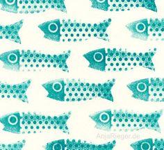 Fish on Friday #pattern #seamless