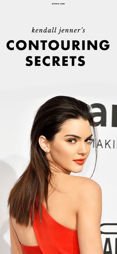 How to contour like Kendall Jenner