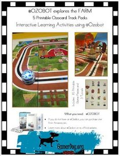 FARM Ozocard Track PackAn Ozobot is a one inch tall mini robot.  It is great for learning simple code language, robotics, organized thinking and planning, deductive reasoning, choreography, and creative thinking, all while promoting teamwork and social cooperation!