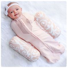 Woombie Plus- Swaddle + Positioner! With breathable fabric!