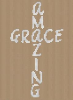 Amazing Grace Cross ... by Motherbeedesigns | Embroidery Pattern - Looking for your next project? You're going to love Amazing Grace Cross Cross Stitch Pattern by designer Motherbeedesigns. - via @Craftsy