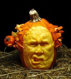 Les citrouilles sculptées de Ray Villafane pour Halloween Photo