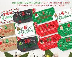 10 Days Of Christmas, Christmas Poems, Christmas Greeting Cards, Christmas Elf, Frugal Christmas, Christmas Gift Tags Printable, Printable Tags, Christmas Printables, Starbucks Gift Card