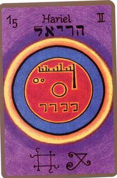 HARIEL,Le scientifique  Est votre Ange gardien si vous êtes né(e) entre le 1er et le 5 juin Nom céleste: IDIO Il est le 15e ange et le 7e ange appartenant au 2e chœur «chœur des ché…