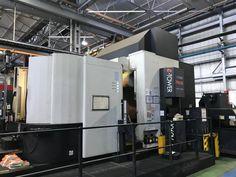 CENTRO DI LAVORO CNC 5 ASSI SIMULTANEI MAZAK INTEGREX E-TOWER 1060 V-8 II USATO. Vendita di macchine utensili usate e TORNI CNC MULTITASKING usati. VIENI A SCOPRIRE la nostra offerta.