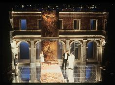 Chaucer in Rome. Scenic design by Alexander Dodge.