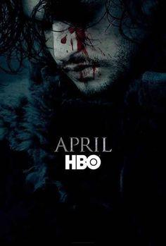 Auf dem ersten Promo-Poster für Staffel 6 lebte Jon Snow von Game of Thrones noch.