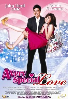 A Very Special Love movie, a.a AVSL, is the most romantic-comedy film for me since If you are a fan either of Sarah Geronimo or John Lloyd Cruz, you will find it very interesting and entertaining. This is the movie where filipino audiences. Movies To Watch, Good Movies, Movies Free, Pinoy Movies, Best Romantic Comedies, Film Movie, Comedy Film, Love Movie, Music Tv
