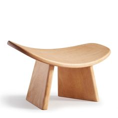 The curved seat of this well-designed cherry wood meditation bench aligns the spine for comfortable sitting in the seiza or kneeling position. Meditation Stool, Meditation Room Decor, Meditation Cushion, Meditation Space, Meditation Gifts, Meditation Supplies, Home Altar, Incense Holder, Design
