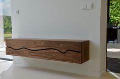 Design Furniture, Living Furniture, Furniture Projects, Cool Furniture, Wood Wall Design, Wood Wall Decor, Modern House Design, Modern Interior Design, Modern Southwest Decor