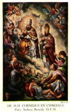 São Cornélio foi eleito Papa no mês de junho de 251, aproximadamente. Eis em que termos escreveu mais tarde São Cipriano a um bispo da África:
