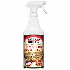 All Natural Home Lice Treatment by Pest Shot  Kills Lice and Lice Eggs on Contact  Organic NonToxic Formula Safe to Use Around Kids and Pets  For Use on Coats Hats Backpacks Bedding and Pillows ** Learn more by visiting the image link.(This is an Amazon affiliate link and I receive a commission for the sales)