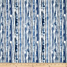 Duralee Sabaki Twill Navy from @fabricdotcom%0A%0AScreen printed on cotton twill; this versatile lightweight fabric is perfect for window accents (draperies, valances, curtains and swags), accent pillows, duvet covers and upholstery. Create handbags, tote bags, aprons and more. Colors include shades of blue and white.