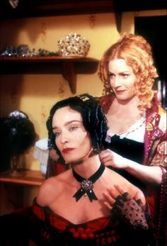 "Jessica Lange & Elisabeth Shue - ""Cousine Bette"" (1998) - Costume designer : Gabriella Pescucci"