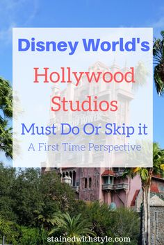 How much time should you plan to spend at Walt Disney World Hollywood Studios?