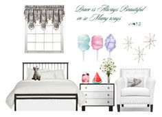 """""""Untitled #427"""" by annashishlo ❤ liked on Polyvore featuring interior, interiors, interior design, home, home decor, interior decorating, MACKINTOSH, Baxton Studio, J. Queen New York and Uttermost"""