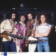 Great shot of The Who