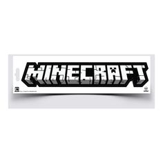 J!NX : Minecraft Logo Sticker - Clothing Inspired by Video Games &... ($2.59) ❤ liked on Polyvore