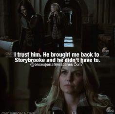 Emma is finally realizing that she and Hook are perfect for each other.