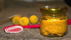 Get tough on the toxins in many shop bought toothpastes and go natural with this great turmeric coconut oil toothpaste recipe.