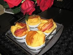 recipes that will take you away...: michelle's bacon souffle