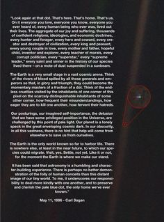 the pale blue dot poem - Google Search