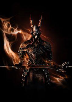 Black Knight [DARK SOULS] by higu0217