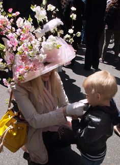 At the New York City Easter Parade #easterparade #easter #newyorkcity