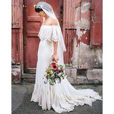 REAL BRIDE HANNAH IN LU BY @daughtersimone