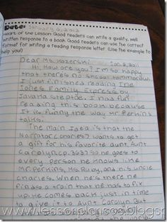 A TeacherS Treasure Interactive Student Notebook  Reading