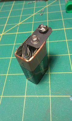 Picture of 9 Volt Battery Secret Compartment