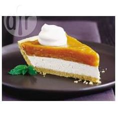 Layered Cream Cheese and Pumpkin Pie @ allrecipes.co.uk
