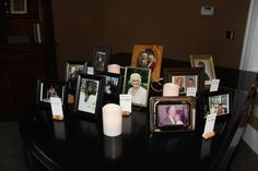 Memorial table   Claycomb Photography Indianapolis