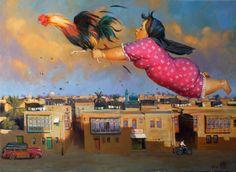 Iraqi artist Mahmoud Abbod Friday Morning