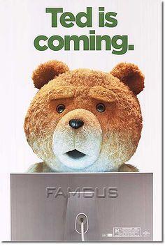 ■片面印刷Ver■ [映画ポスター] テッド (TED) [Ted is coming ADV-SS]【楽天市場】