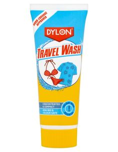 Dylon Travel Wash 75ml Travel Wash is bleach free and safe to use on all fabrics including delicates such as wool and silk. It is effective in hot, cold and even sea water. The cream produces a gentle lather, which is kind  http://www.MightGet.com/january-2017-11/dylon-travel-wash-75ml.asp