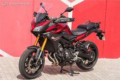 Yamaha MT-09 Tracer - Mestre do Binário - Test drives - Andar de Moto