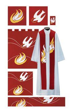 4224 THE HOLY SPIRIT PARAMENT SET