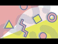 How to create a memphis pattern in Adobe Illustrator| Freepik - YouTube