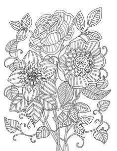 """mon jardin intérieur"" Coloring book agenda 2015:"