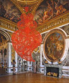 Joana Vasconcelos at Versailles.