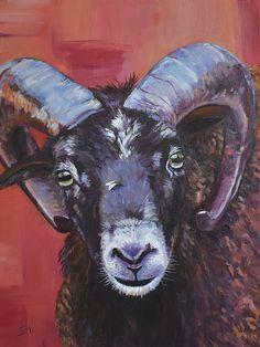 Sheep Paintings, Traditional Art, Make You Smile, Animal Pictures, Fine Art America, Moose Art, Wildlife, Art Prints, Wall Art