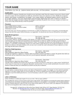 Resume help nanaimo   Types of writing styles for essays Baby Sitter Job find babysitting jobs Babysitting Resume Sample       Babysitter Resume Template Nanny Babysitter