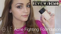 Elf Acne Fighting Foundation: Foundation for Your Acne-Prone Skin Cosmetics News, Faces Cosmetics, Foundation For Mature Skin, Best Foundation, Acne Skin, Acne Prone Skin, Cosmetic Clinic, Acne Breakout, Uneven Skin