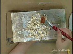 Passo a Passo Bau Latonado Pinctore Tigre - YouTube