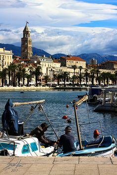 Split ~ Croatia.  Another beautiful country with great food! One of my favorite places on the planet. So so sooooo beautiful.  I really hope to return.