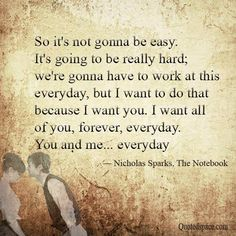 """Relationship Quotes--Become a Love Magnet with Romantic Things To Do"""" LOVE… Cute Quotes, Great Quotes, Quotes To Live By, Inspirational Quotes, Nicholas Sparks Quotes, Romantic Things To Do, Qoutes About Love, No One Loves Me, Love And Marriage"""